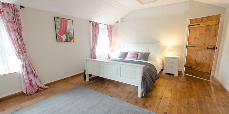 Spacious main double bedroom
