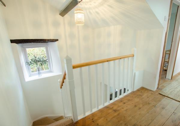 Charming stairwell and landing