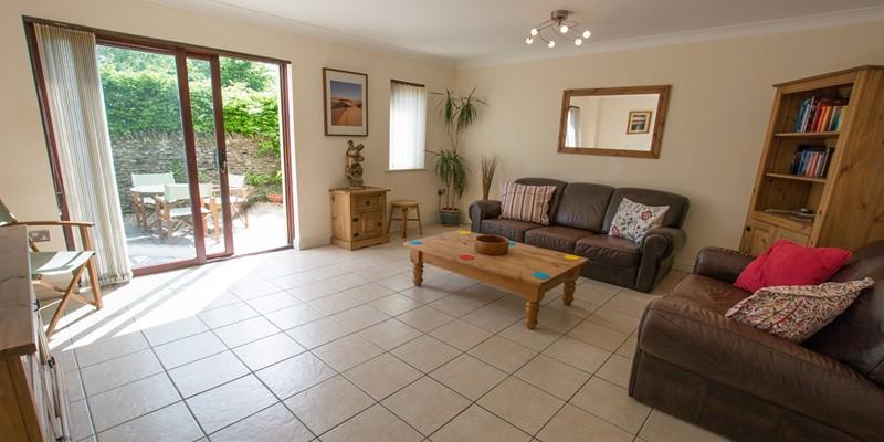 Large modern villa styled lounge in braunton