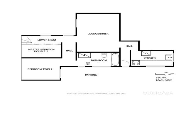 Beach Breeze Floor Plans