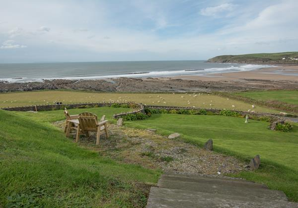Spectacular sea views overlooking Croyde