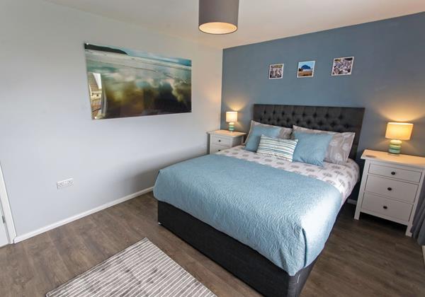 Master bedroom at Sandbanks Braunton North Devon