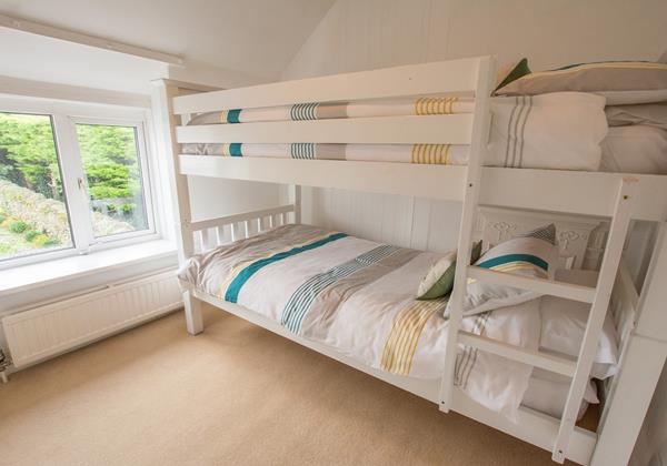 Childrens Bunk beds Holidays In Croyde