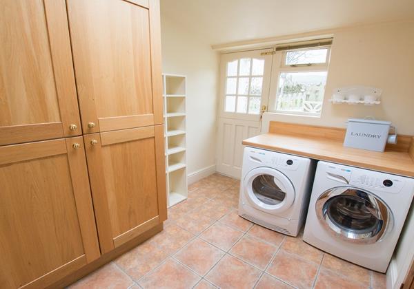 Utility Laundry room Bridge Cottage