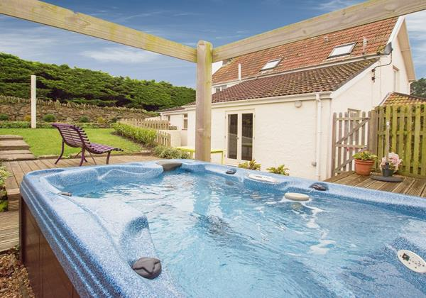 Hot tub holiday in Croyde North Devon