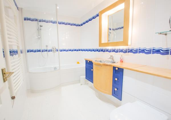 Family bathroom and shower perfect childrens bathtime