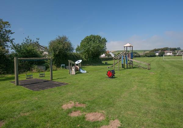Georgeham village green adjacent to Bagend Devon