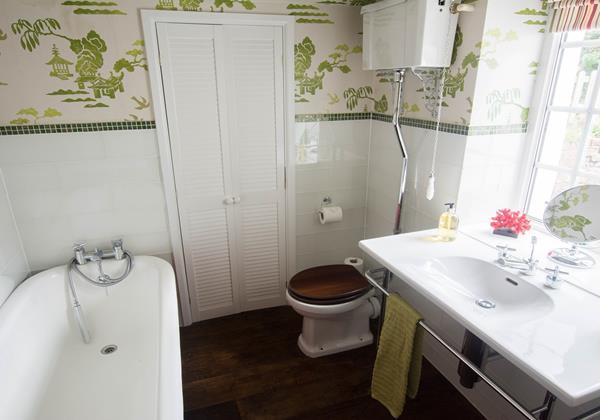Victorian styled bathroom