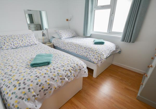 Twin room for teenagers