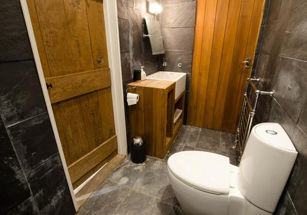 Cloakroom and shower room