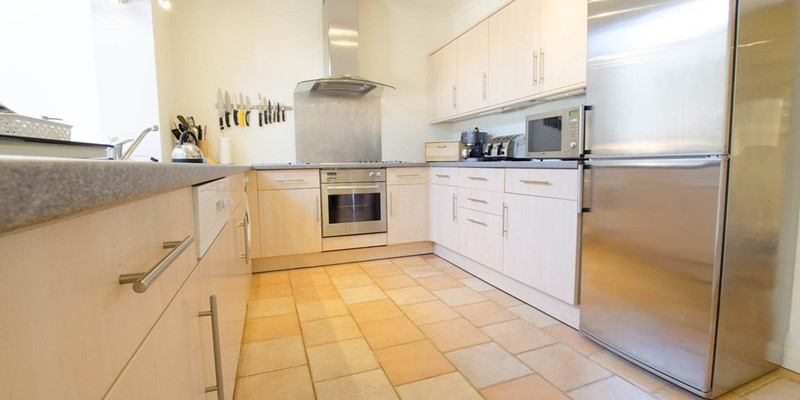 Holiday cooking kitchen at Clifton Court