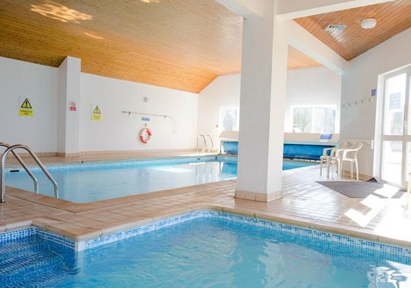 Indoor swimming pool in Putsborough Devon