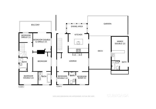 Bagend Floor Plans
