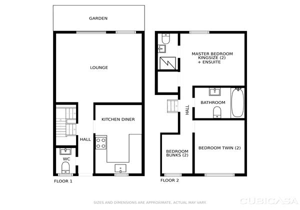 Oyster Cottage Braunton Floor Plans
