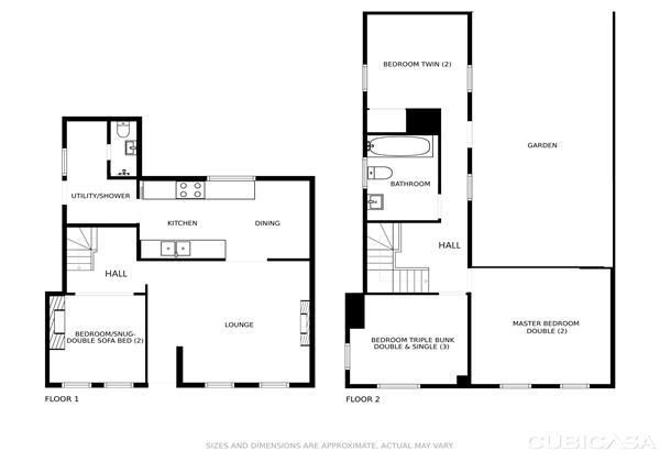 Berry Cottage Floor Plan