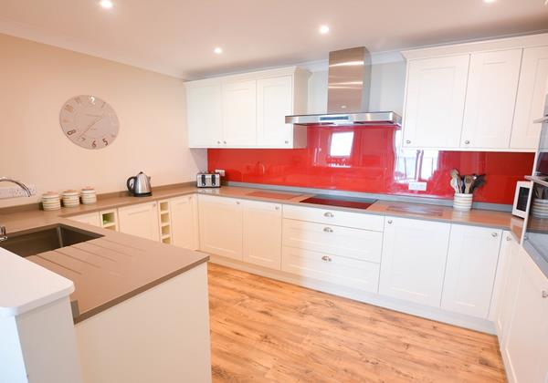 Stylish kitchen at Clifton Court