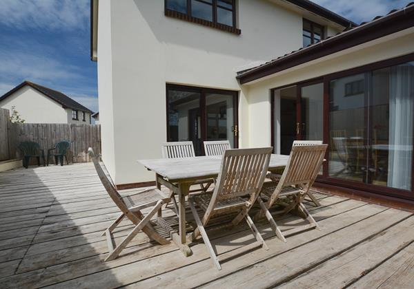 Rockpool In Croyde with Decking