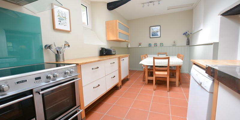 Kitchen and dining for holiday family time meals