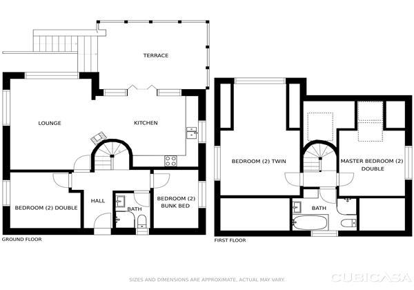 Rooftops Floor Plans