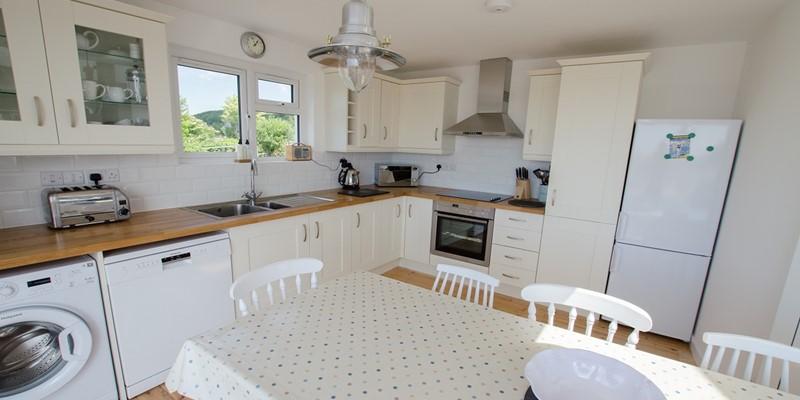 Kitchen for self catering in North Devon