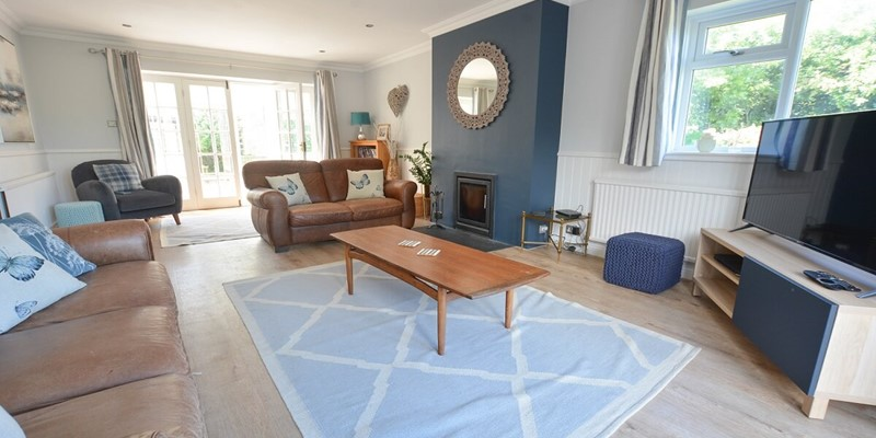 Relax in the comfortable sofa's at Ladywell Croyde