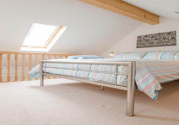 Master Bedroom at Holiday Cottage in Croyde